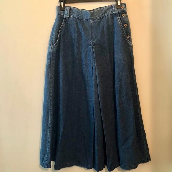 Dockers Dresses & Skirts - Dockers Full Denim Maxi Skirt